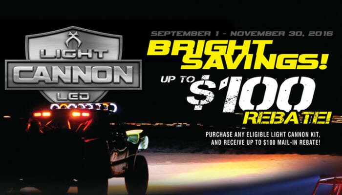 Cannon $100 Rebate