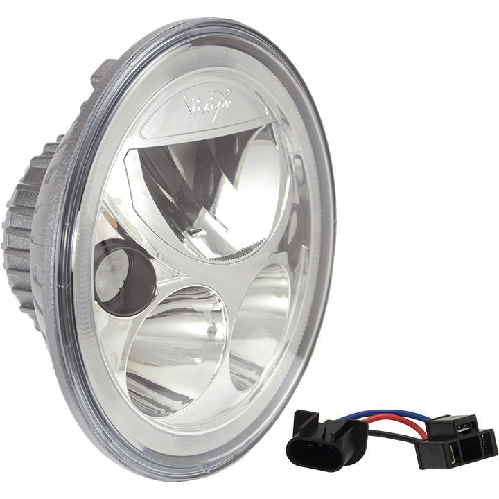 7 vortex led headlight vision x usa product technical action video