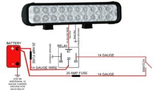 VX_TD_LEDLight Installation 300x180 vision x led light bar wiring diagram yondo tech Basic Electrical Wiring Diagrams at bayanpartner.co